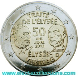 Germany - 2 Euro Elysee Treaty, 2013