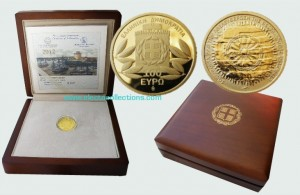Greece - 100 Euro gold, the Liberation of Thessaloniki, 2012