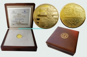 Greece - 100 Euro gold, centennial of the Balkan Wars, 2012