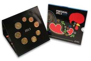 Portugal - Euro coins, Official BU Set 2013