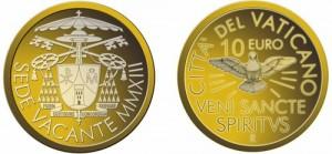 Vatican - 10 Euro Gold Sede Vacante, 2013