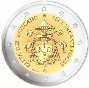 Vatican - 2 Euro commemorative Sede Vacante, 2013