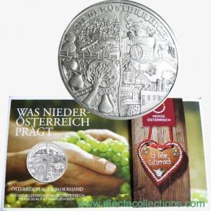 Austria - 10 Euro Silver BU, Niederösterreich, 2013