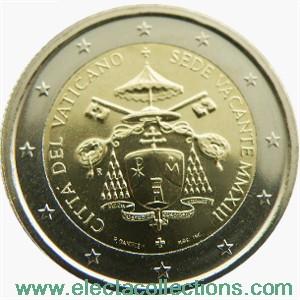 Vatican - 2 Euro Sede Vacante, 2013