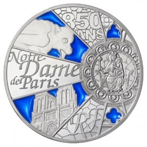 France - 10 Euro silver coin PROOF, Notre Dame de Paris, 2013