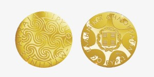 Greece - 50 Euro mini gold, Ancient Tiryns, 2013