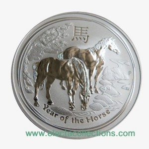 Australia - Silver coin BU 1 oz, Year of the Horse, 2014