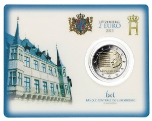 Luxemburg - 2 Euro BU, National Anthem of Luxembourg, 2013