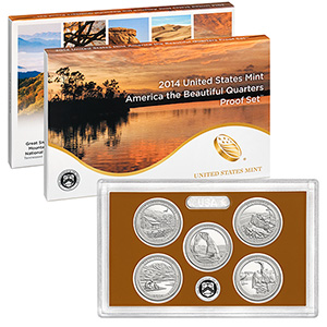 United States - America the Beautiful Quarters Proof Set, 2014