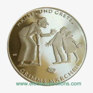 Germany - 10 Euro Silver PROOF, Hansel and Gretel, 2014