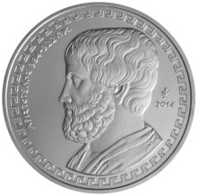Greece - 10 Euro Silver Proof, ARISTOTLE, 2014