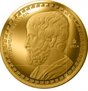 Greece - 200 Euro Gold Proof, ARISTOTLE, 2014