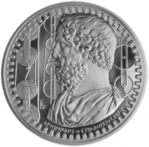Greece - 10 Euro Silver Proof, ARCHIMEDES, 2015