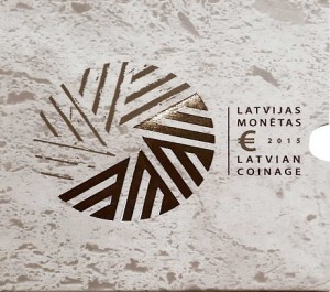 Latvia - Euro coins, Official BU Set 2015