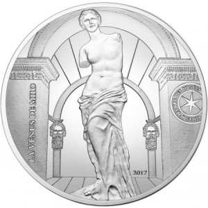 France - 10 Euro Ag proof, VENUS OF MILO (GREECE), 2017