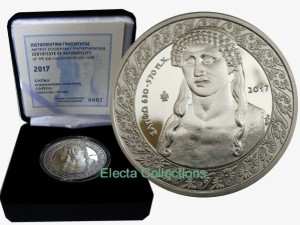 Greece - 10 Euro Silver Proof, SAPPHO, 2017