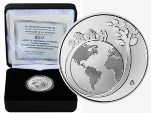 Greece-6-euro-silver-TOURISM-FOR-DEVELOPMENT