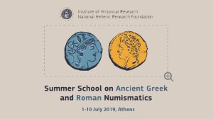 Numismatics Summer School