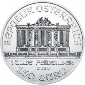 Euro coins silver Issue year: 2020 Quality: BU Metal: Silver Weight: 1 οz Diameter: 37 mm Fineness: 999