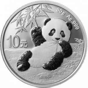 silver panda 30gramms 2020