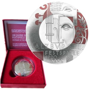 Austria - 20 Euro, SALZBURG FESTIVAL, 2020