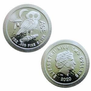 Niue - Silver coin 1 oz Athenian Owl, 2020