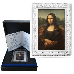 France - 10 Euro Silver proof, MONA LISA, 2019