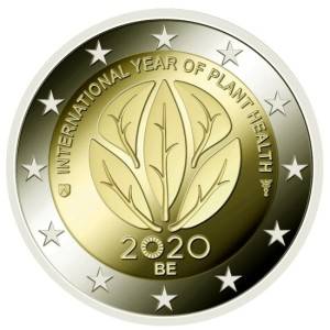 Belgium-2-euro-2020-year-of-plant-health