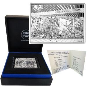 France 10 euro silver Guernica 2020