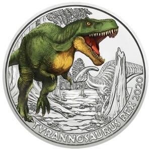 Austria-3-euro-2020-tyranosaurus-rex_1